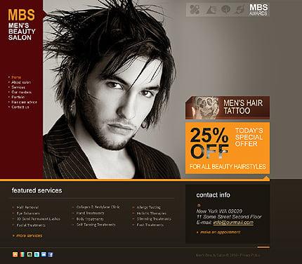 ADOBE Photoshop Template 28813 Home Page Screenshot