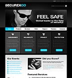 Security PSD  Template 28814