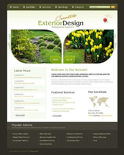 Realizare Site Online design exterior