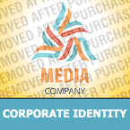 Media Corporate Identity Template 28870