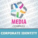 Media Corporate Identity Template 28874