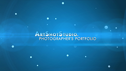 After Effects Intro för fotografportfolio #28819 - skärmbild