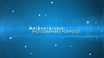 Photographer Portfolio After Effects Intro AE Intro Screenshot
