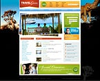 Travel PSD  Template 28971