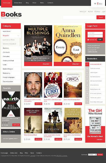 ADOBE Photoshop Template 28977 Home Page Screenshot