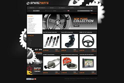 ZenCart Template 28988 Main Page Screenshot