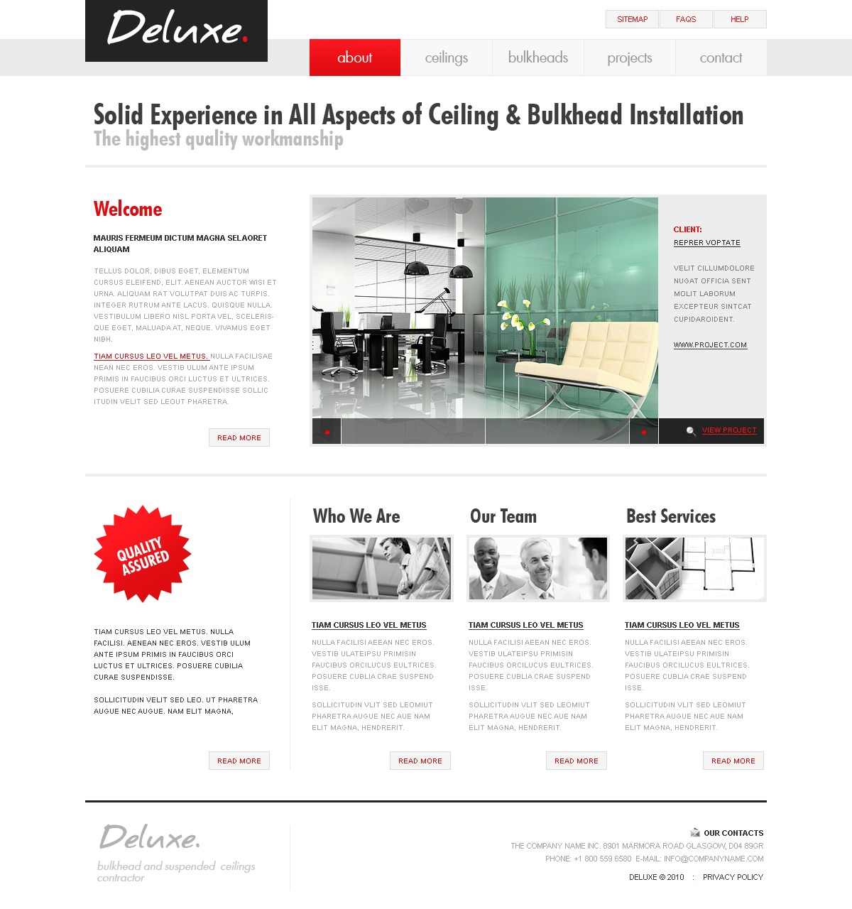 Website vorlage 28918 f r innenarchitektur for Innenarchitektur software