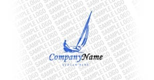 Yachting Logo Template vlogo