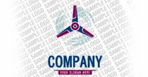 Wind Energy Logo Template aLogo - big