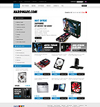 Computers ZenCart  Template 29009