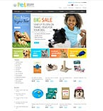 Animals & Pets ZenCart  Template 29010