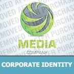 Media Corporate Identity Template 29027