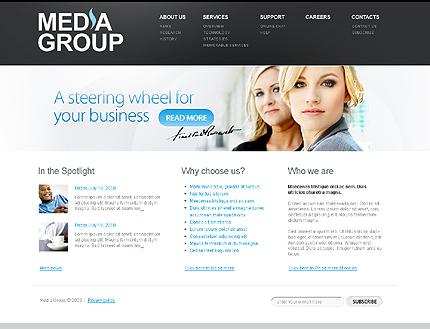 PSD макет сайта №29040