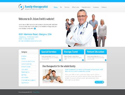 ADOBE Photoshop Template 29044 Home Page Screenshot