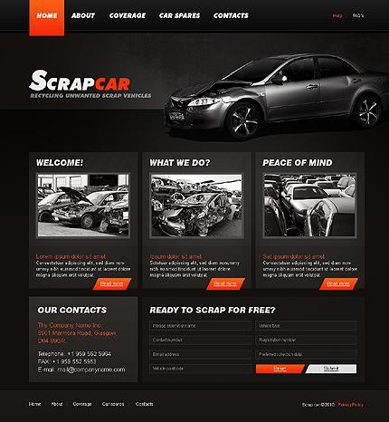 Realizare site service auto