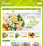Flowers VirtueMart  Template 29067