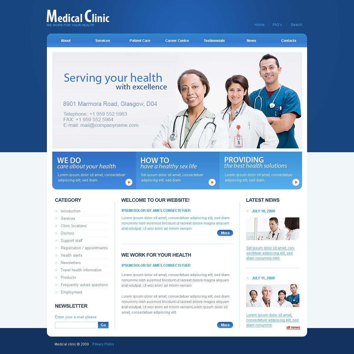 Medical PSD Template