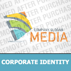 Media Corporate Identity Template 29169
