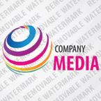 Media Logo  Template 29186