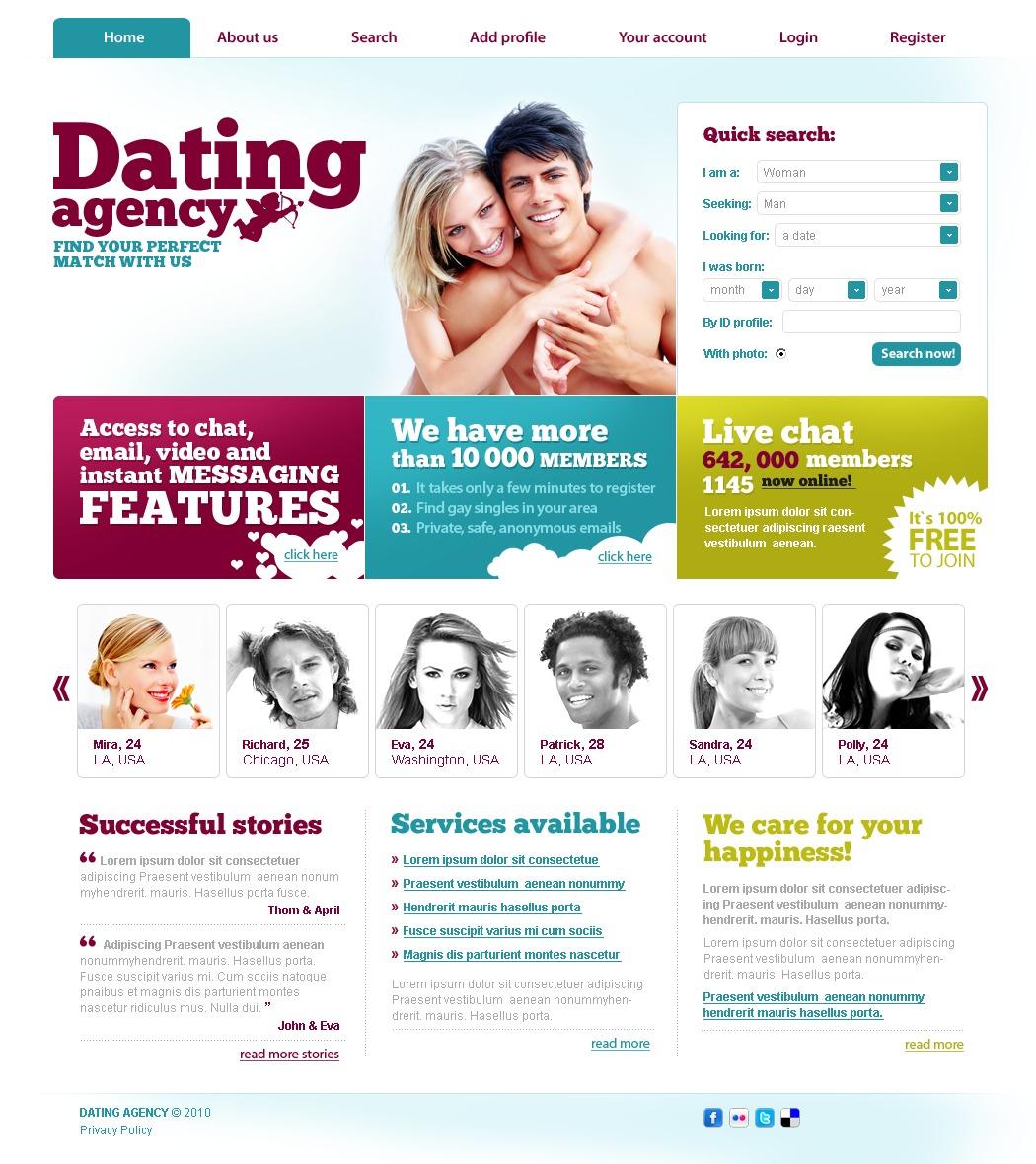 instant dating website