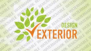 Exterior design logo template 29177 for Exterior design templates