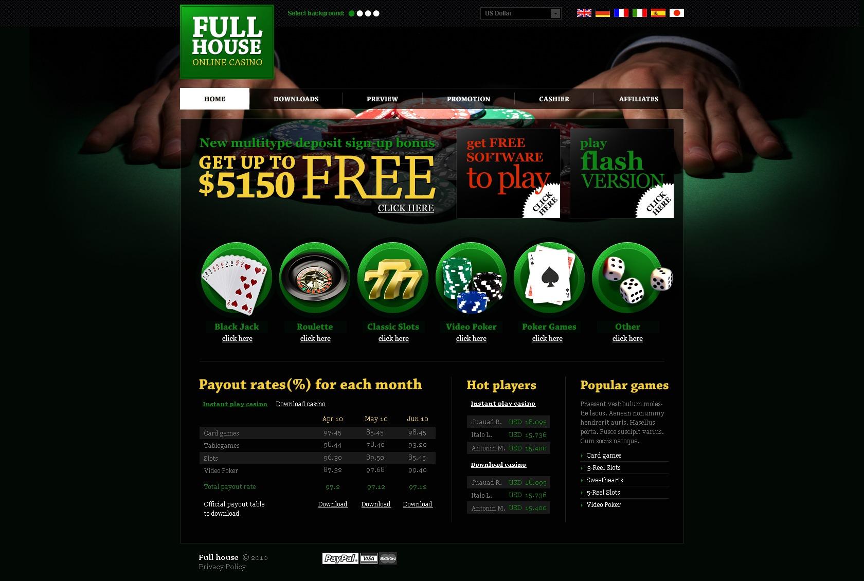 On line casino sites free online casino penny slots
