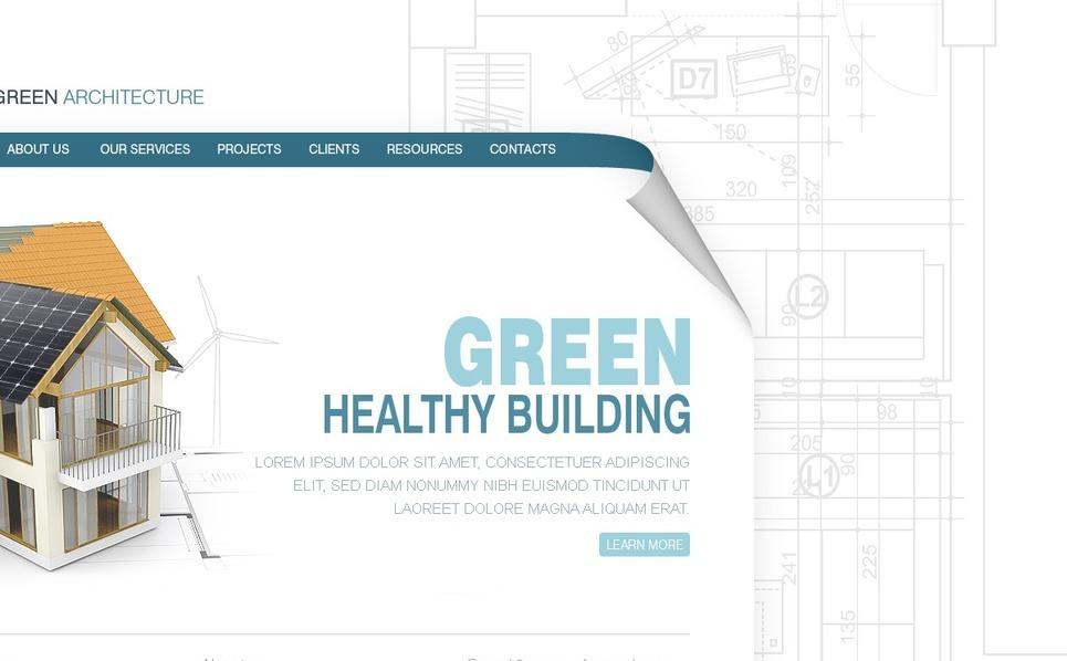 Építőipari vállalatok PSD sablon New Screenshots BIG