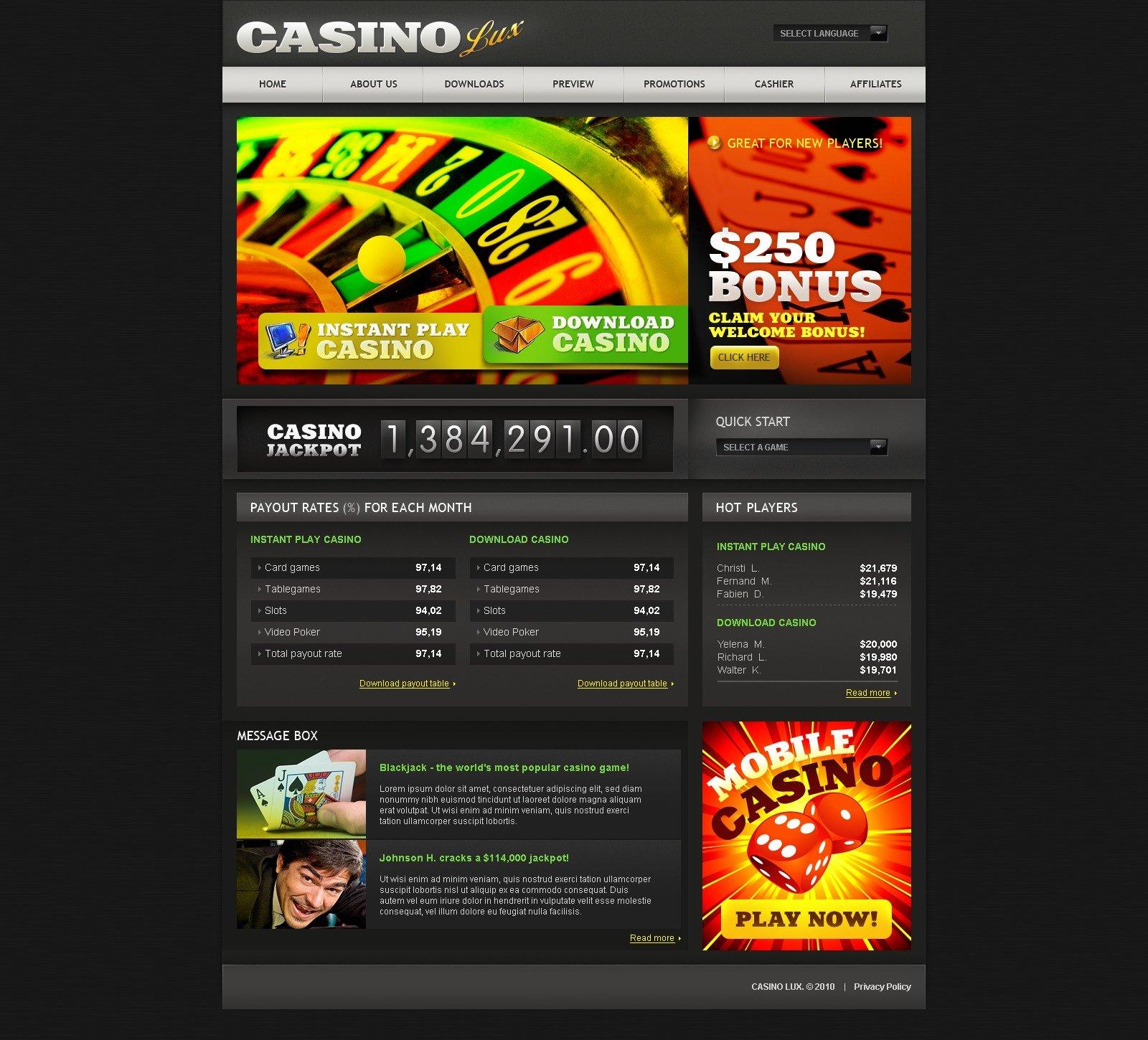 free casino websites