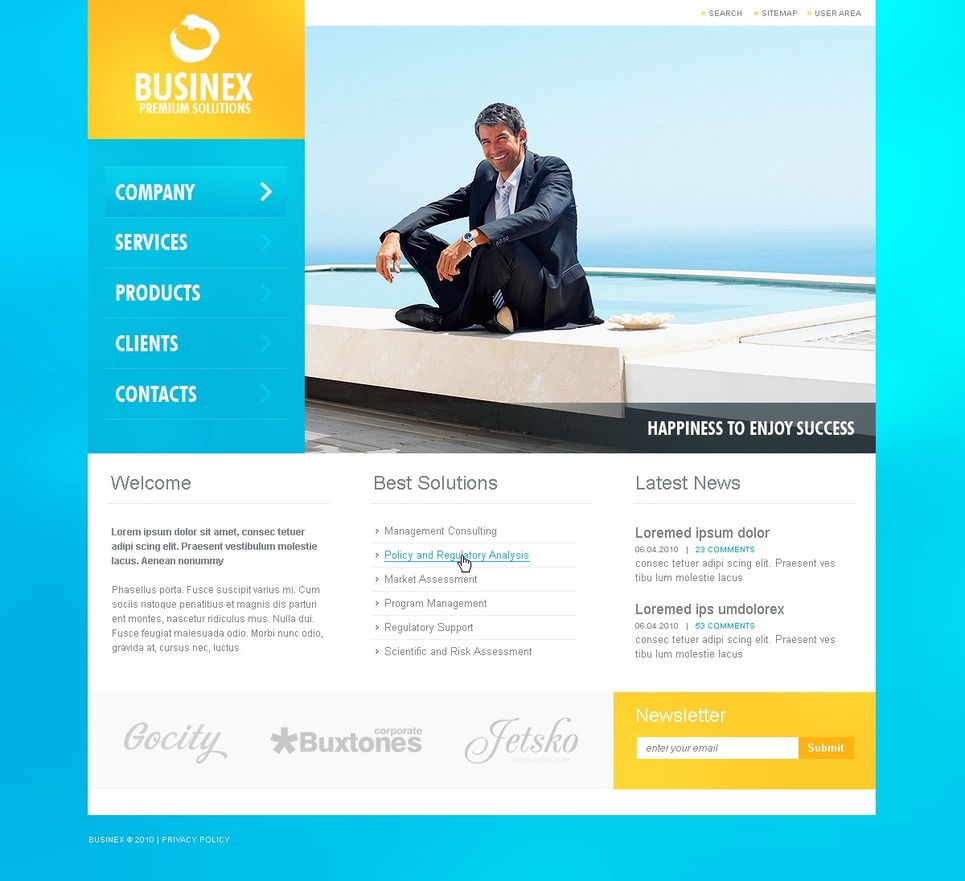 business website template 29304 by wt website templates. Black Bedroom Furniture Sets. Home Design Ideas