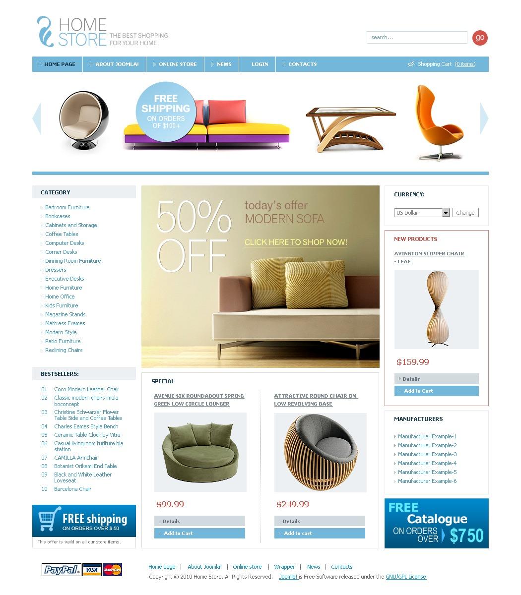 th me virtuemart 29399 pour site d 39 int rieur et de meubles. Black Bedroom Furniture Sets. Home Design Ideas