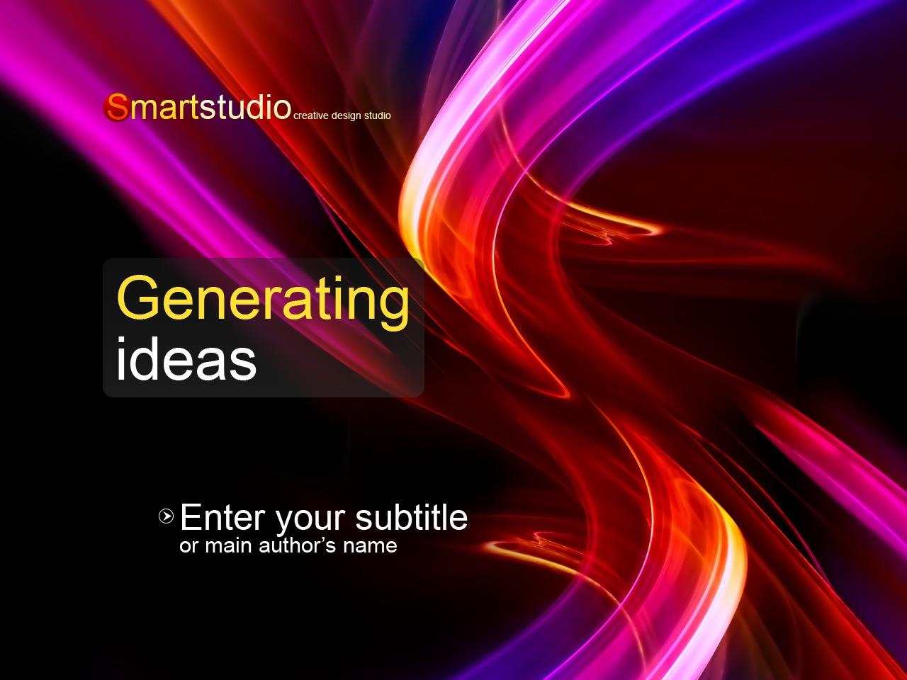 Design Studio PowerPoint Template