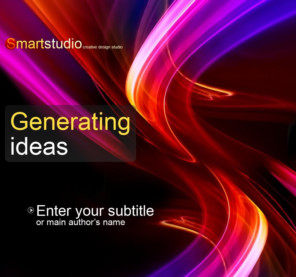 Tema powerpoint 29323 per un sito di design studio for Sito di design