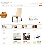 Furniture VirtueMart  Template 29432