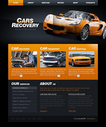 Creare site recuperari masini