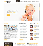 Flash Animated: Business Full Site CSS Flash 8 Wide Templates HTML 5 White Templates