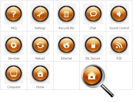 Icon Set Template 29555 Screenshots