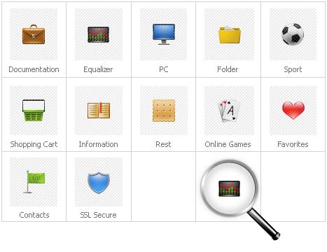 Icon Set Template 29556 Screenshots