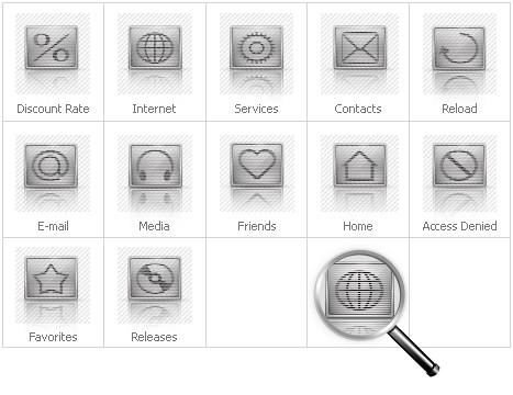 Icon Set Template 29557 Screenshots