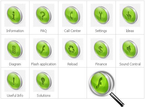 Icon Set Template 29558 Screenshots