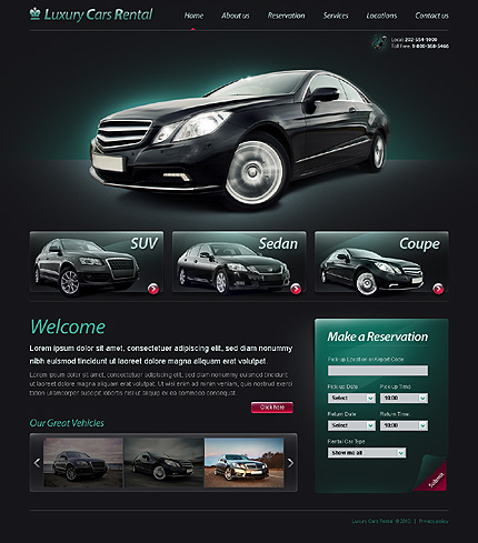 Realizare Site Online reprezentanta auto