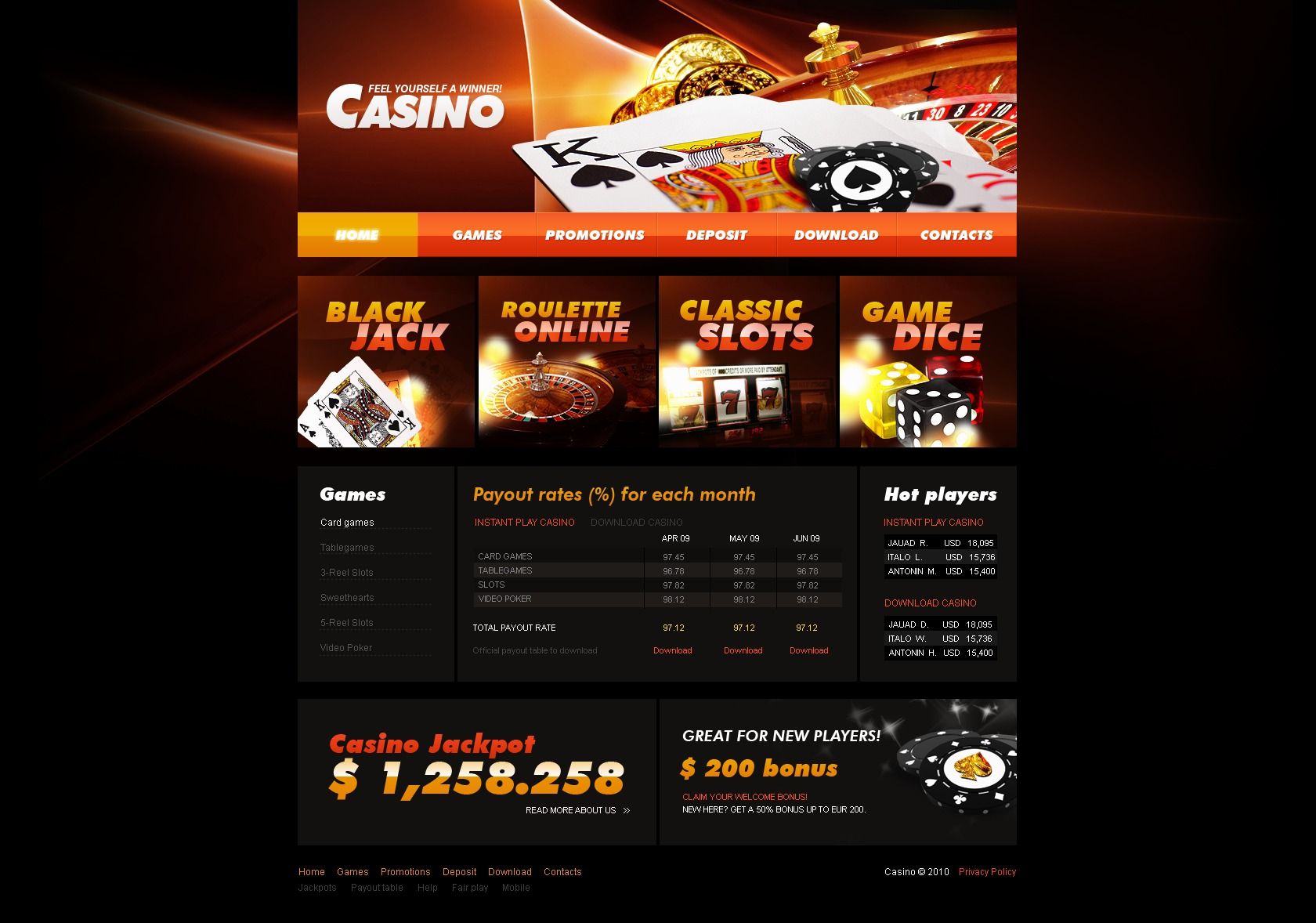 Casino resume templates 50 free casino