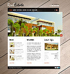 Flash Animated: Real Estate Full Site CSS Flash 8 Wide Templates HTML 5