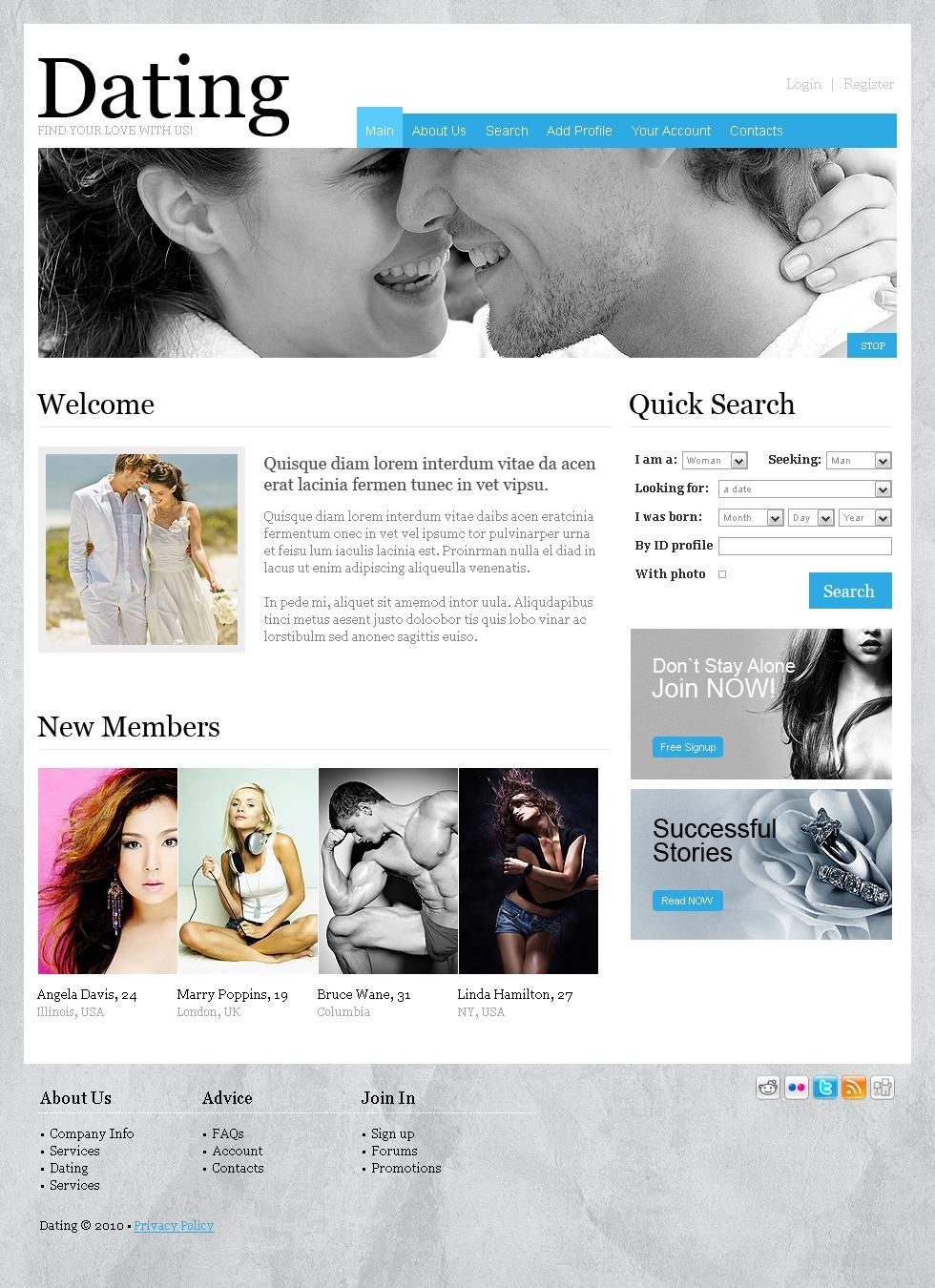 Dating webseiten