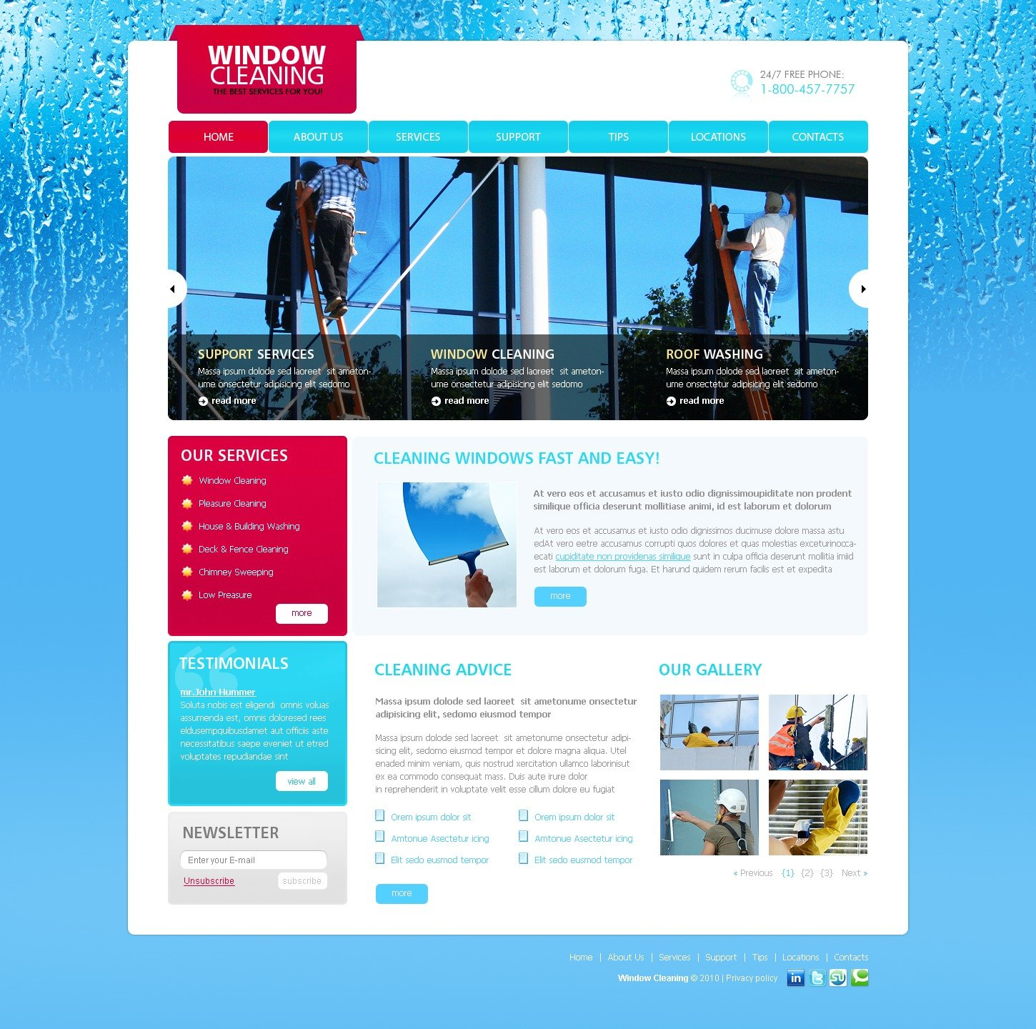 window cleaning website template  window cleaning website template