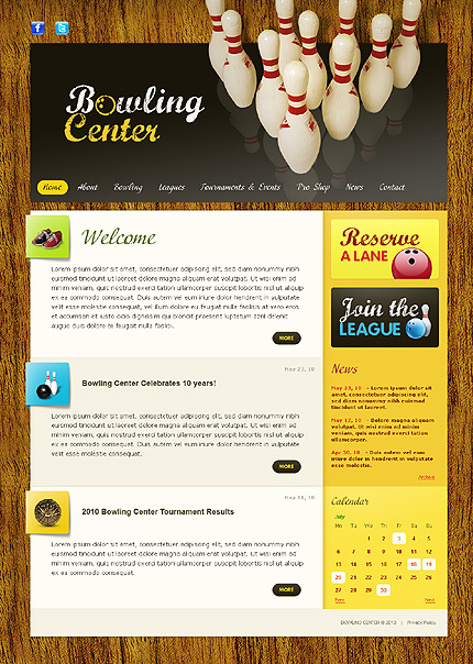 Realizare Site Online bowling