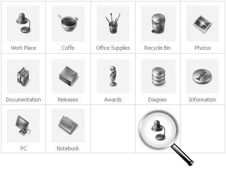 Icon Set Template 29613 Screenshots