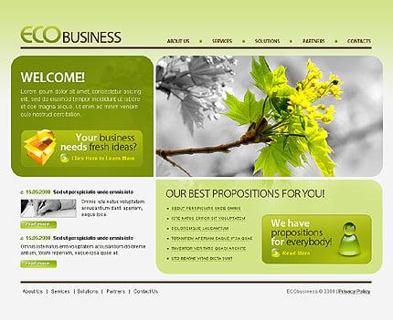 ADOBE Photoshop Template 29681 Home Page Screenshot