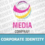 Media Corporate Identity Template 29842
