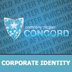 Security Corporate Identity Template 30006