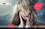 Art & Photography Flash CMS  Template 30009